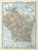 Page 083 - Wisconsin, World Atlas 1911c from Minnesota State and County Survey Atlas