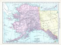 Alaska, World Atlas 1913