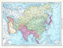 Asia, World Atlas 1913