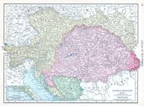 Austria-Hungary, World Atlas 1913