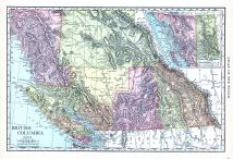 British Columbia, World Atlas 1913