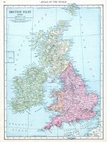 British Isles, World Atlas 1913