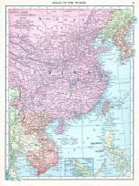 China, Siam, and Indo-China, World Atlas 1913