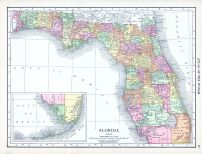 Florida, World Atlas 1913