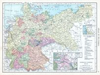 German Empire, World Atlas 1913