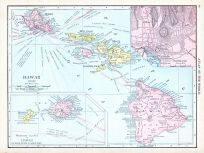 Hawaii, World Atlas 1913