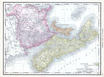Maritime Provinces, World Atlas 1913