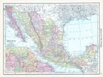 Mexico, World Atlas 1913
