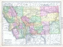 Montana, World Atlas 1913