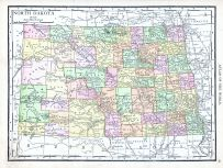 North Dakota, World Atlas 1913