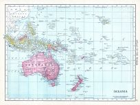 Oceania, World Atlas 1913