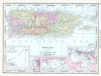Porto Rico, World Atlas 1913