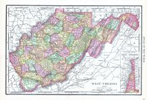 West Virginia, World Atlas 1913