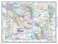 Wyoming, World Atlas 1913