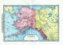 Alaska, World Maps 1906 from Wellington County Canada Atlas