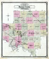 Ramsey County Map Ramsey County 1909 North Dakota Historical Atlas Ramsey County Map