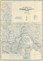 Bonner County Maps Bonner County 1950 Idaho Historical Atlas Bonner County Maps